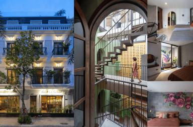Deja Vu house 2 - Mini hotel, Babylon thu nhỏ hay Ốc đảo nhân tạo? | Nemo studio