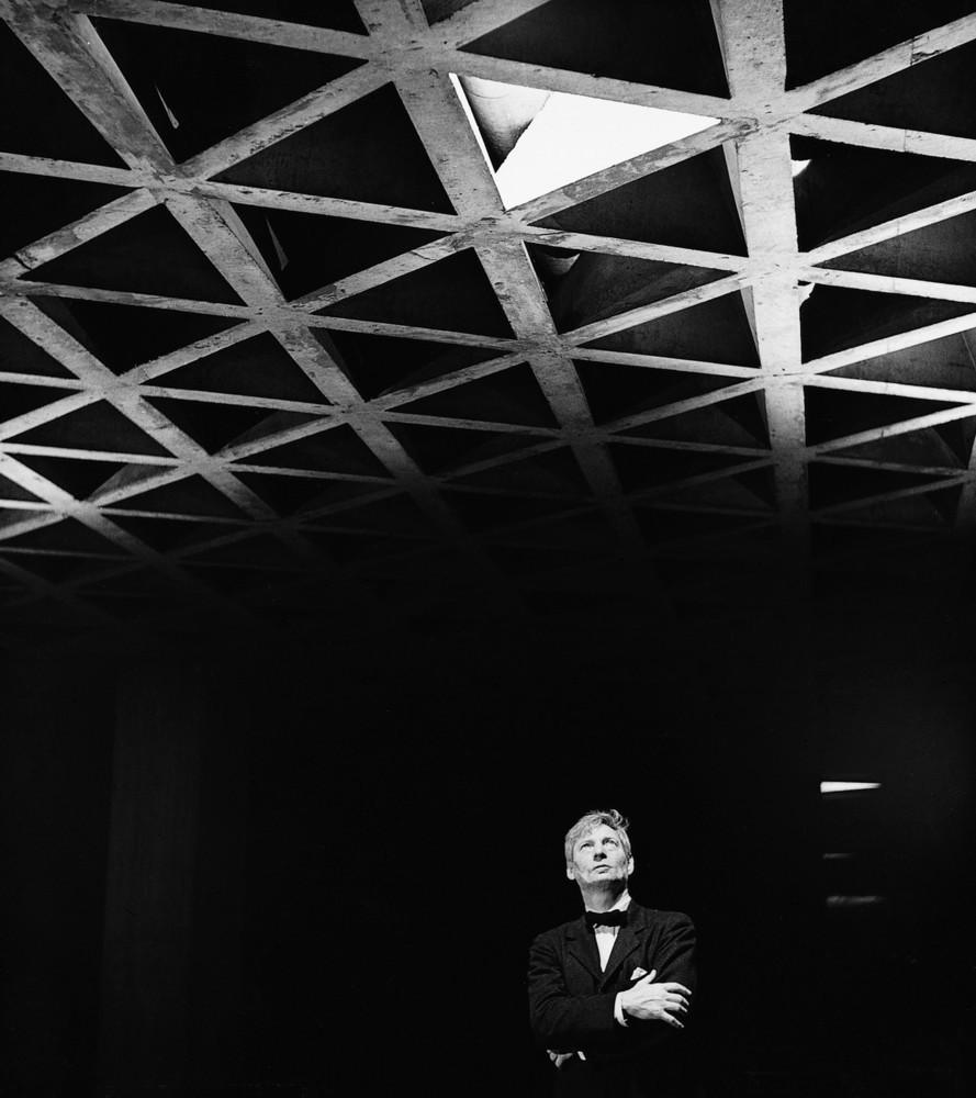 Louis Kahn. Ảnh © Lionel Freedman