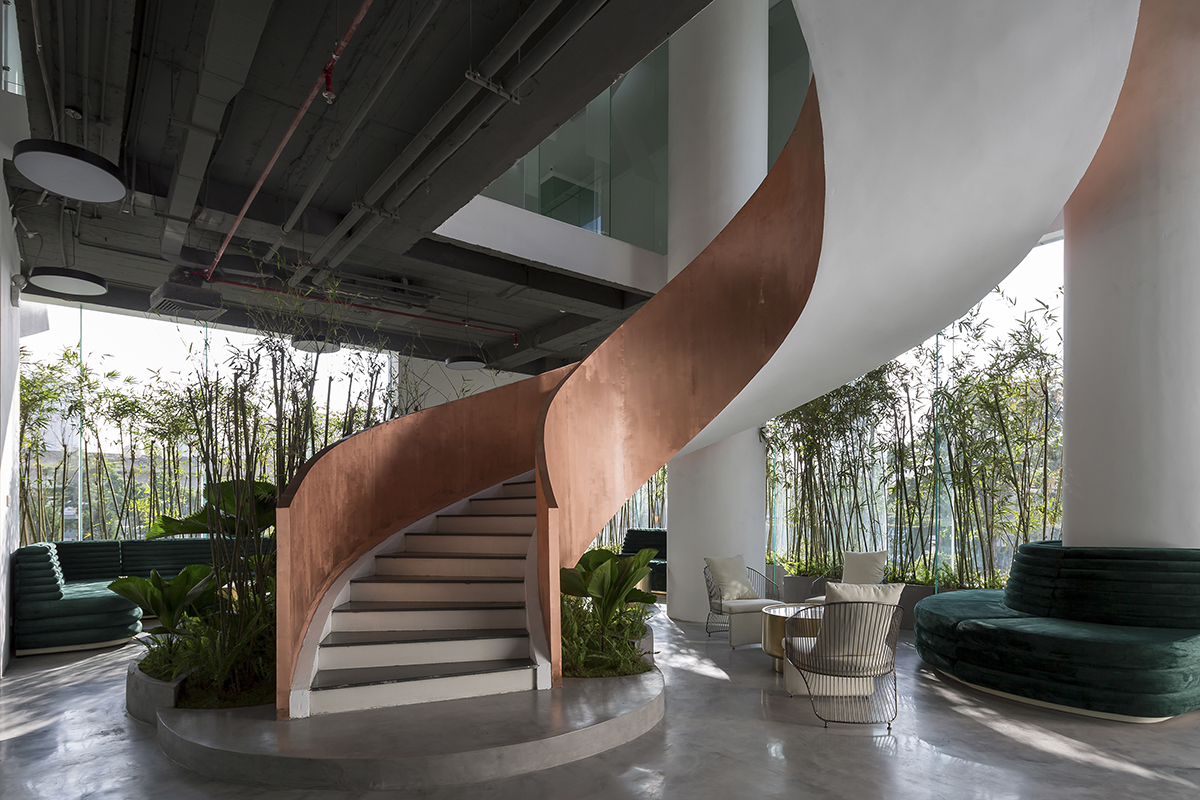 iplus Architecture | 0219 GHTK interior office - Sảnh GHTK