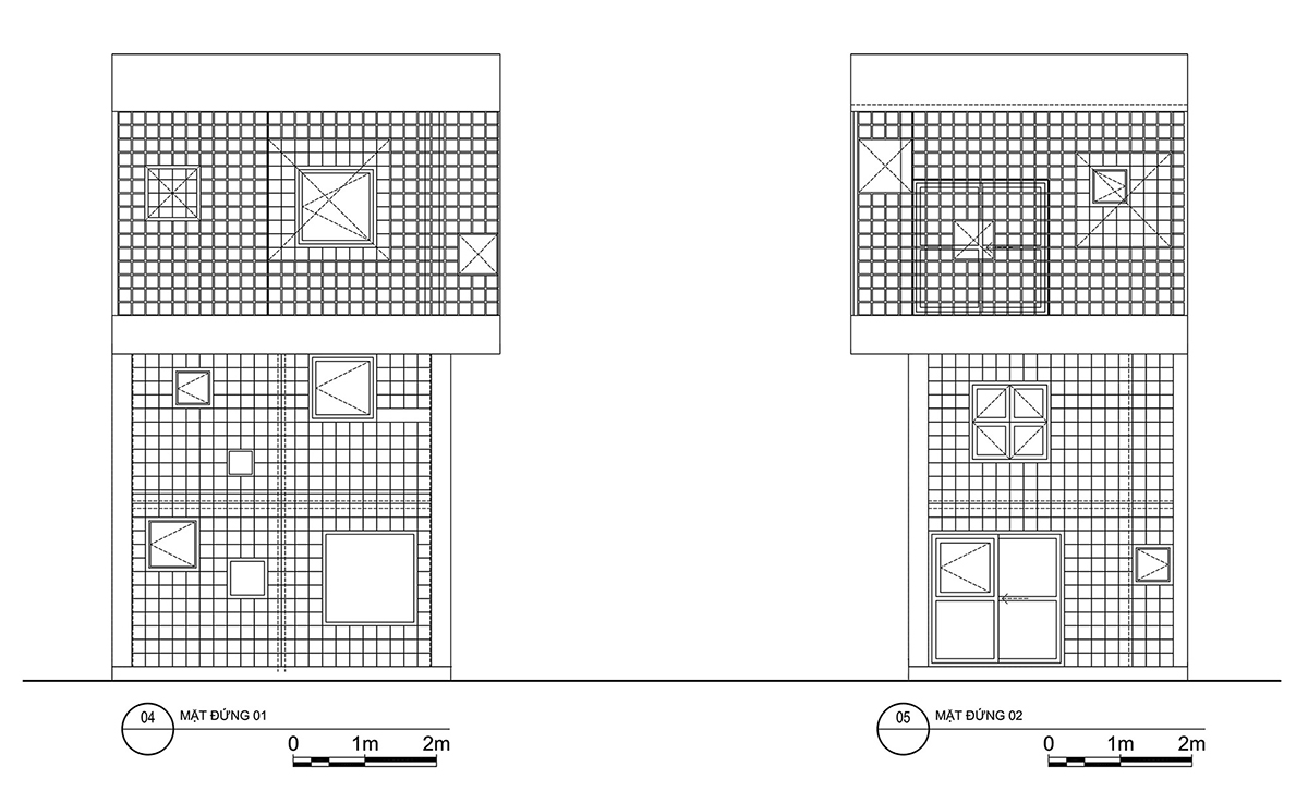 Glass house - Nhà gạch kính với không gian xanh | ROOM+ Design & Build