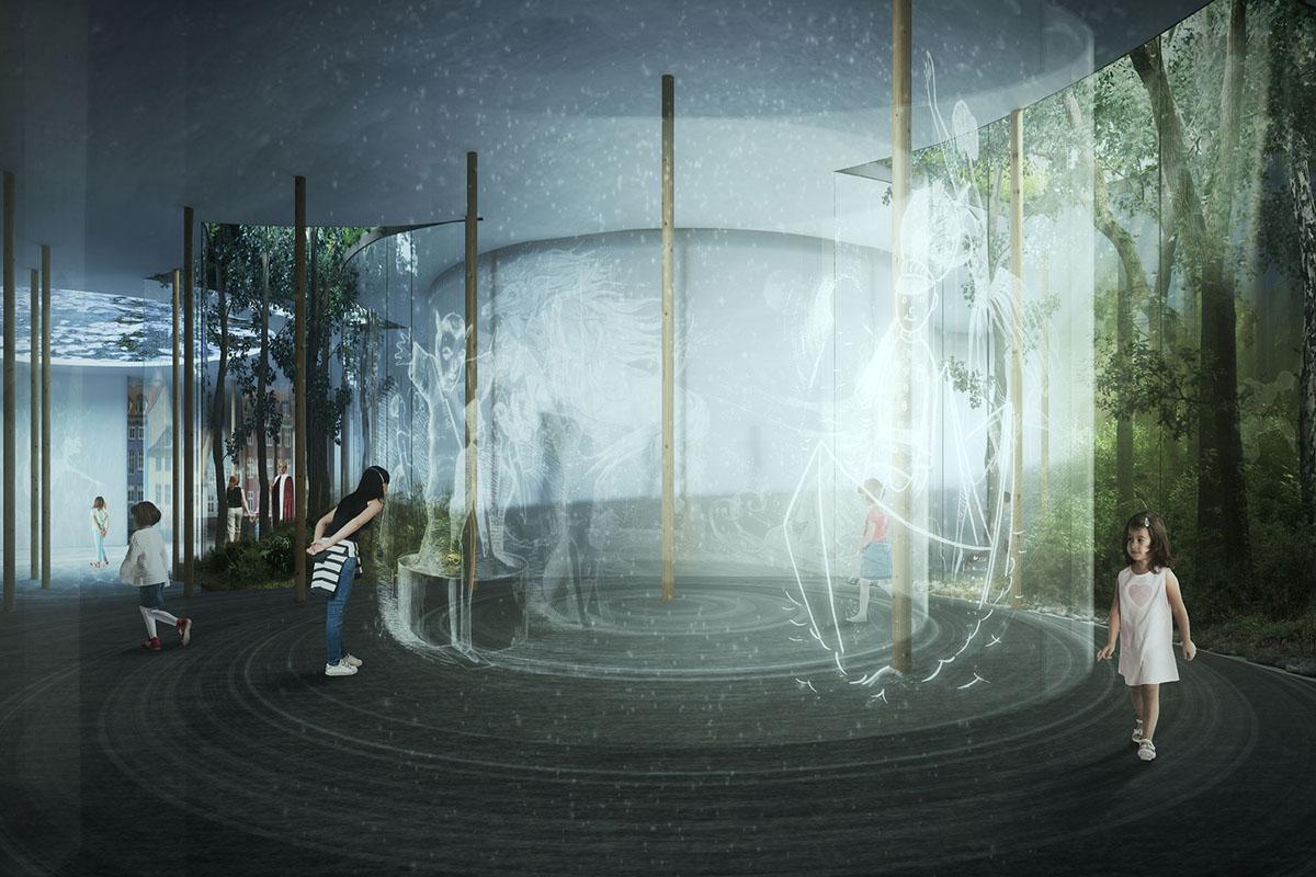 Tiết lộ dự án Bảo tàng Hans Christian Andersen | Kengo Kuma và Cornelius+Vöge