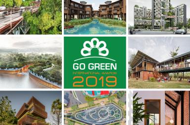 Công bố kết quả giải Kiến Trúc Xanh - SPEC Go Green International Awards 2019