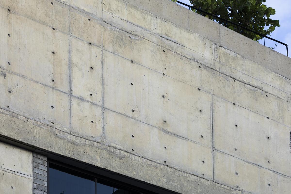 0875 - The Concrete House 01 / Ho Khue Architects: Ngôi nhà 4 tầng với diện tích lô 5m x 16m