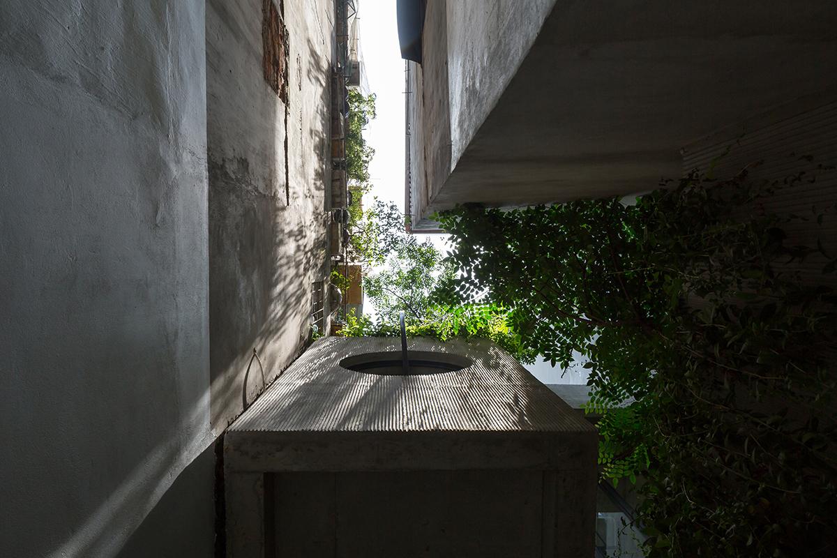 CH house - Ngôi nhà với 2 lớp mặt tiền | ODDO ARCHITECTS