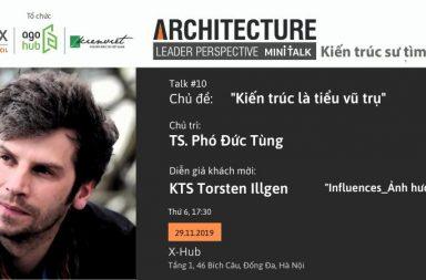 ALP Mini-talk #10: Ảnh hưởng của môi trường sống đến thiết kế kiến trúc