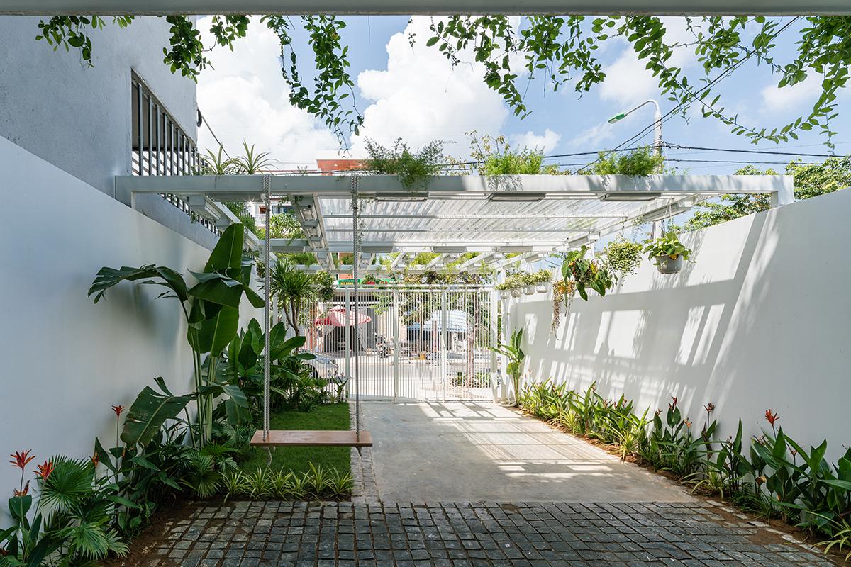 Q house - Ngôi nhà nhiệt đới phù hợp khí hậu miền Trung