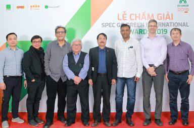 Chấm giải Kiến Trúc Xanh Spec Go Green International Awards 2019