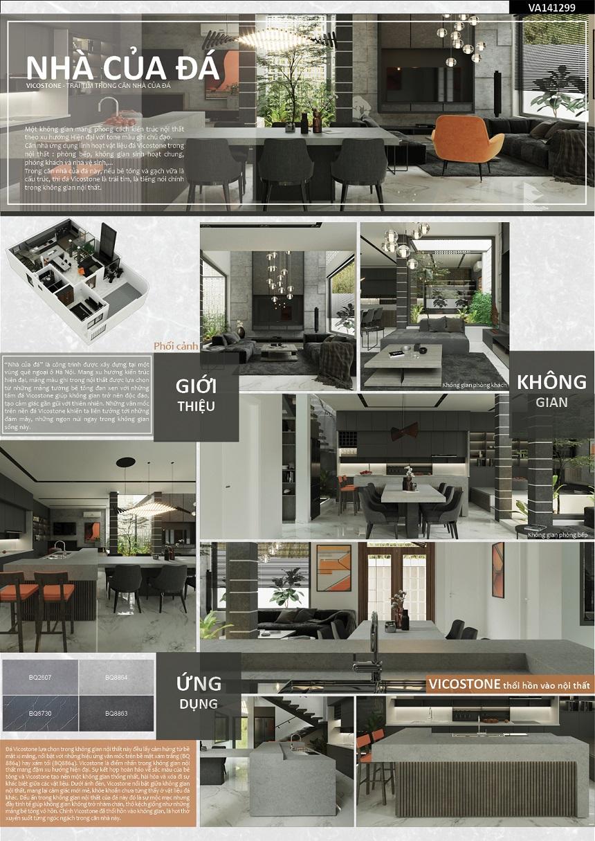 Công bố kết quả cuộc thi Vicostone dấu ấn trong không gian nội thất