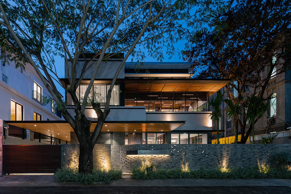Canopy Villa - Ngôi biệt thự của những mái hiên | VACO Design