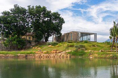 IDEE architects | Cam Hải house - Nhà trên đồi đá