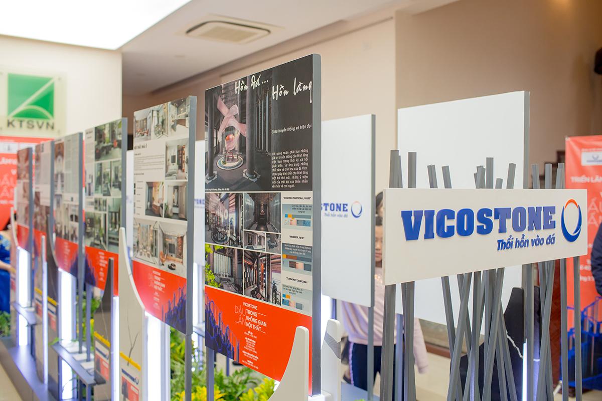 """TCBC: Triển lãm và Trao giải cuộc thi """"Vicostone - Dấu ấn trong không gian nội thất"""""""