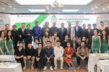 Lễ trao giải và triển lãm Kiến Trúc Xanh SPEC Go Green International Awards 2019