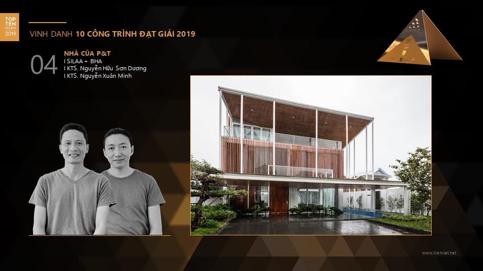 Công bố 10 ngôi nhà Việt năm 2019 - Giải thưởng nhà ở Top 10 Houses Awards 2019