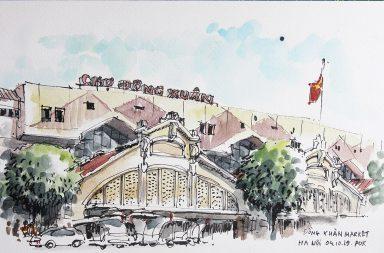 POK ART | Phong Khiếu & Urban Sketchers