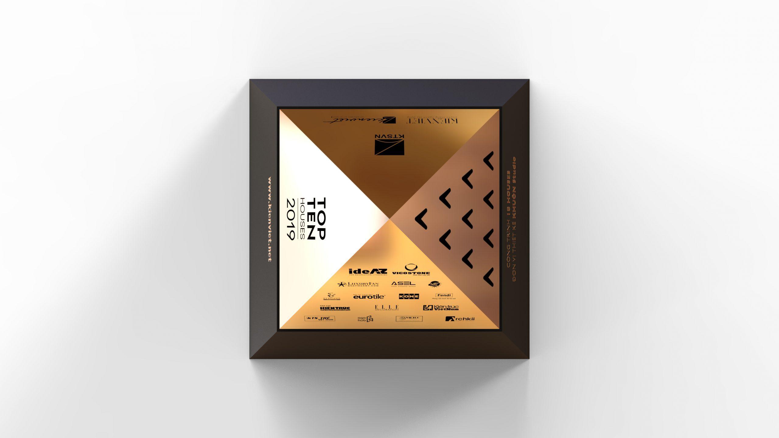Công bố Thiết kế Cup của giải thưởng Top 10 Houses Awards 2019