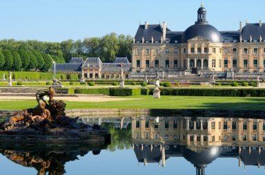 vườn, lâu đài, cảnh quan