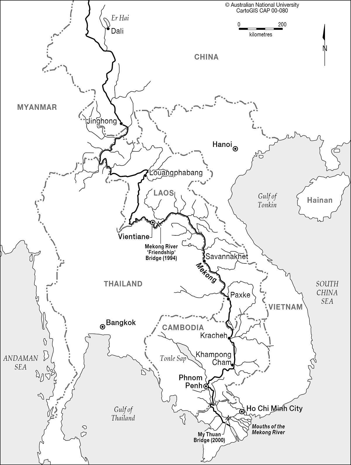 Kiến Việt - Kế hoạch của Campuchia cho các đập thủy điện Mekong