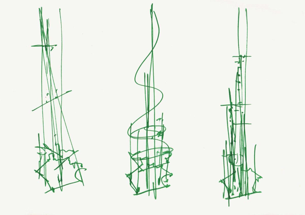 Bản vẽ của các kiến trúc sư nổi tiếng trên thế giới