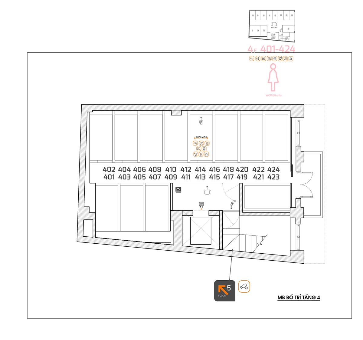 Khách sạn Khẩn Hoang   VG Design