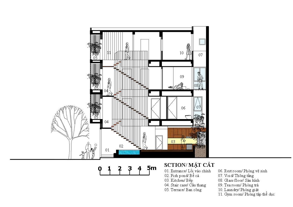 Waterfall House  - Nhà thác nước | V+ Studio