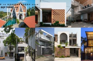 Top 10 Houses Awards 2020: Tổng hợp Nhà đẹp tháng 1 & 2