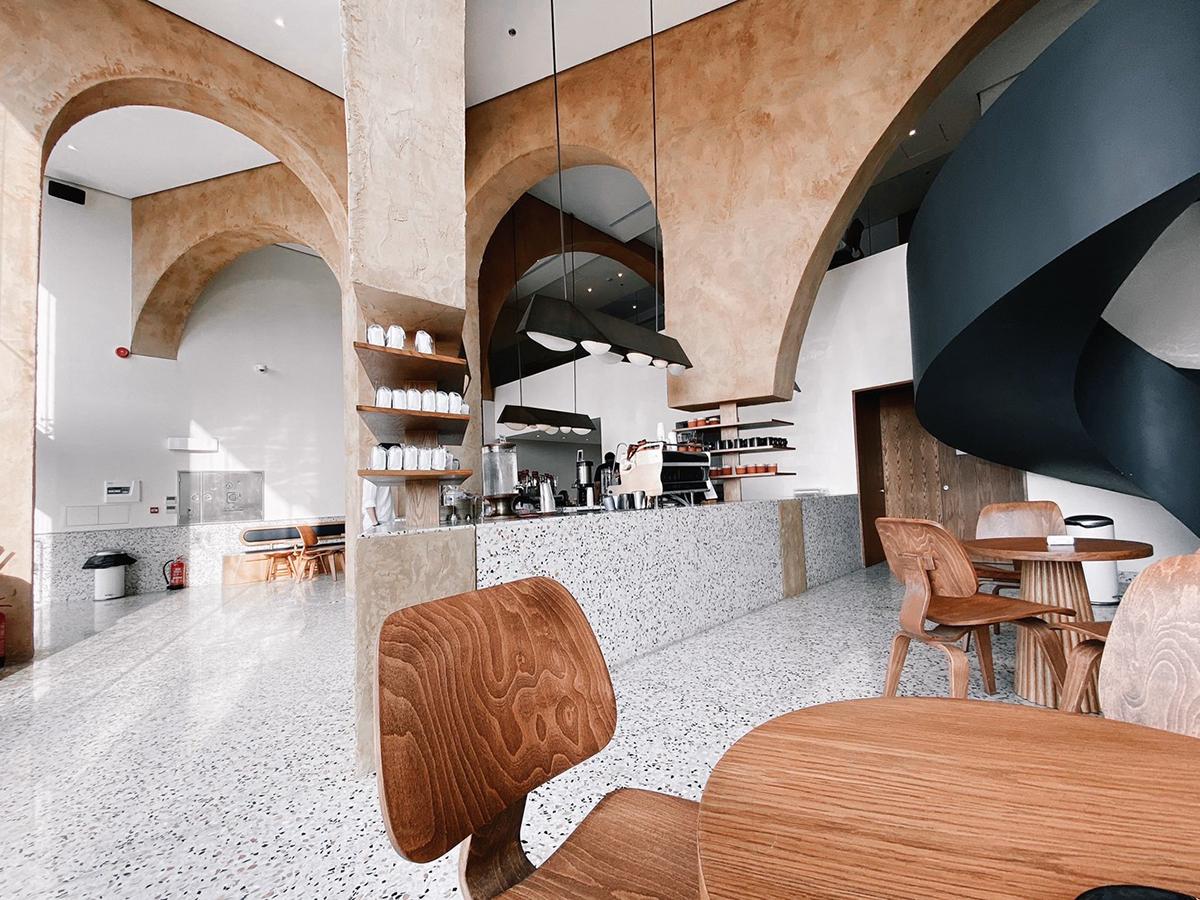 Kiến Việt - Ngôi đền Deco Quán cà phê rang Elixir Bunn AZAZ Architects