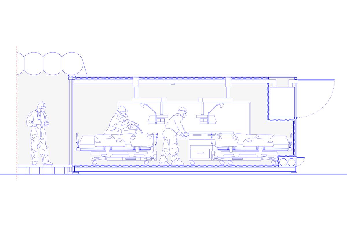 Container, COVID-19