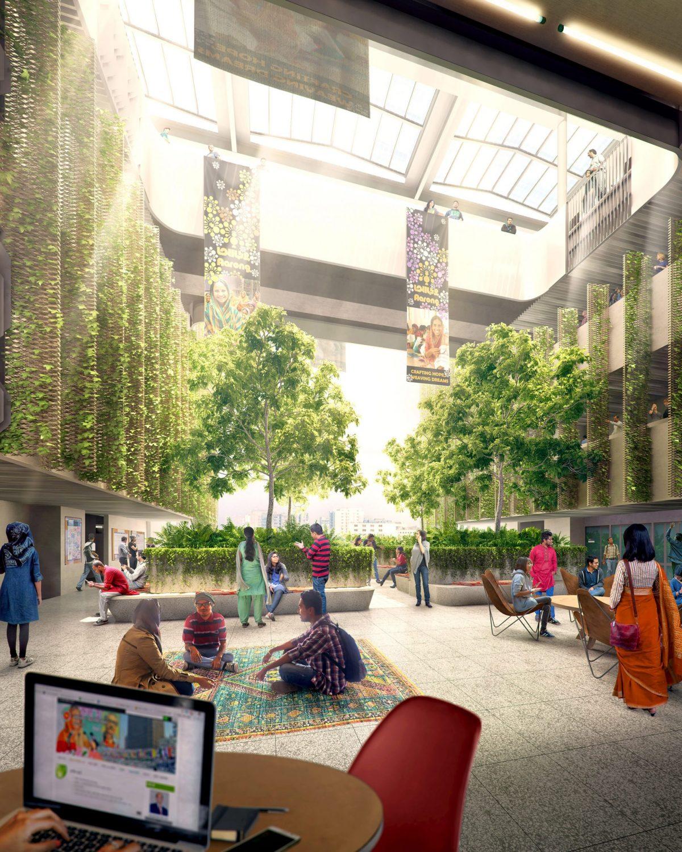 WOHA biến bãi rác Bangladesh thành khuôn viên trường đại học BRAC