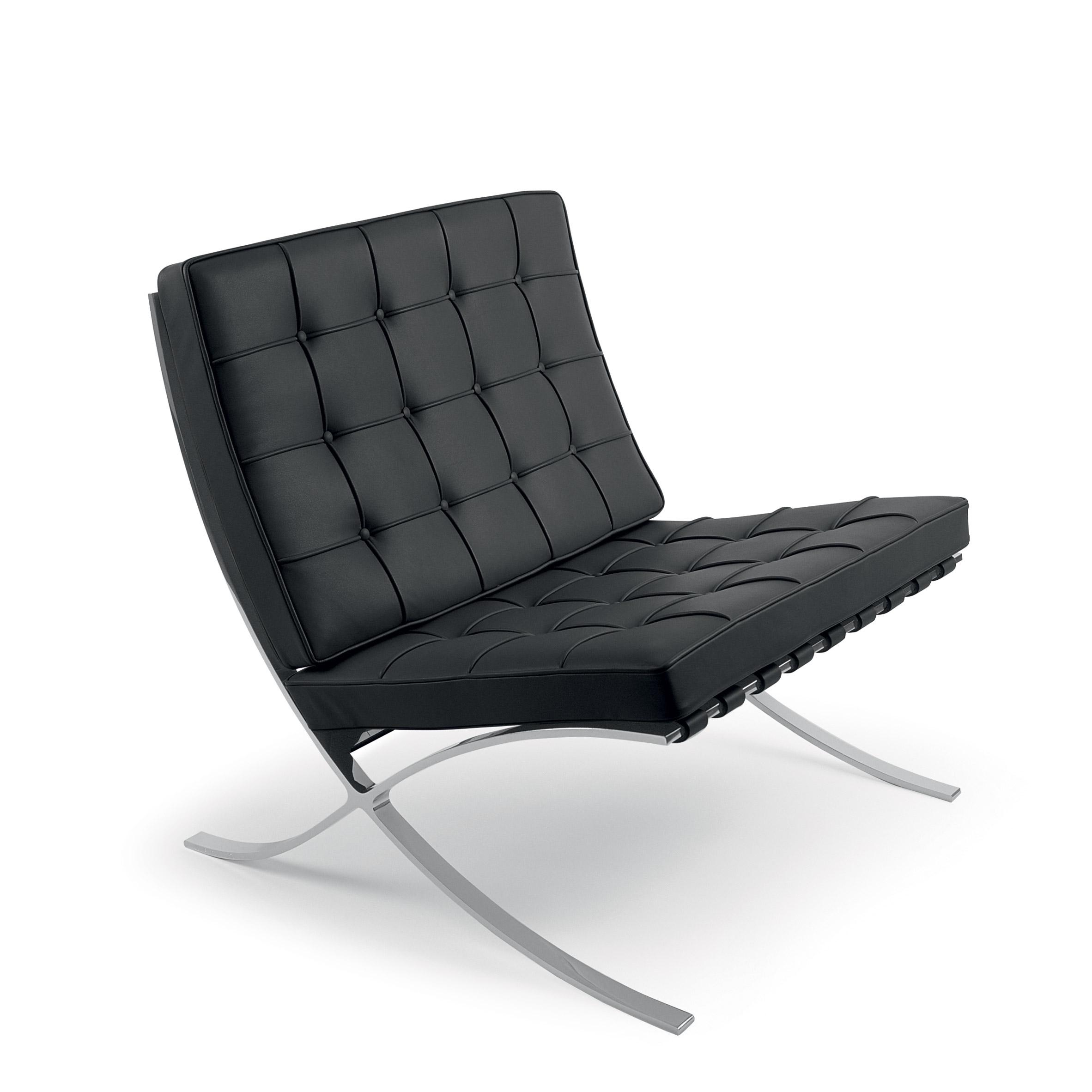 Ghế Barcelona thiết kế bởi Mies van der Rohe & Lilly Reich
