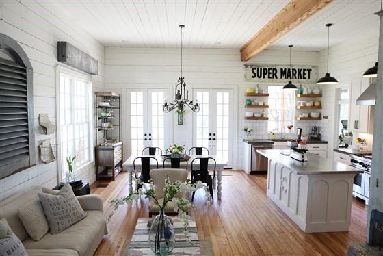 Phong cách nội thất Farmhouse - Tìm kiếm sự giản dị và bình yên của miền quê