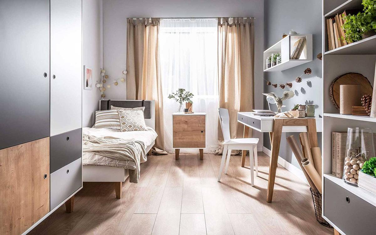 10 ý tưởng trang trí tường cho phòng ngủ nhỏ