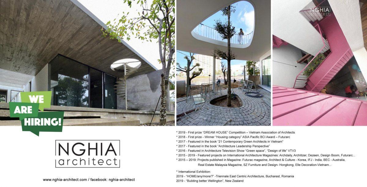 Văn phòng Kiến trúc NGHIA-ARCHITECT tuyển dụng