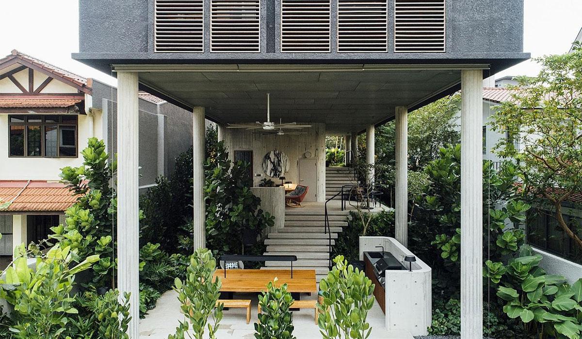 Kiến Việt - A House Above 44 Kasai Road - Nhà trên cột có phải là lỗi thời  Ipli Architects