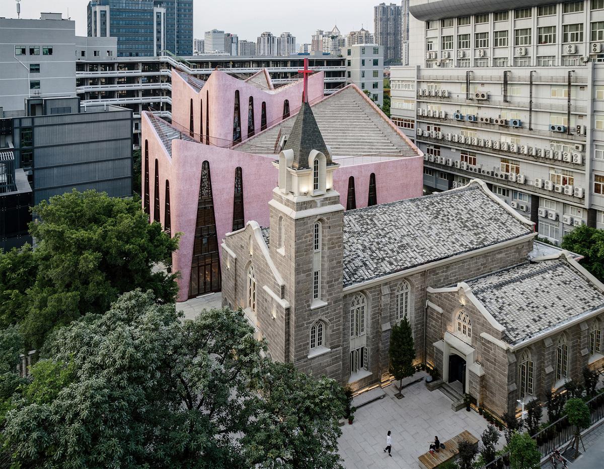 Kiến Việt - Trung tâm cộng đồng của giáo đường Huaxiang - Nhân tố hòa giải đô thị INUCE