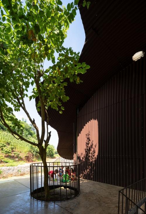 Điểm Trường Bó Mon- Ý tưởng về trạm kết nối