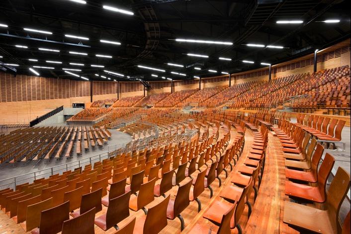 âm học, nhà hát