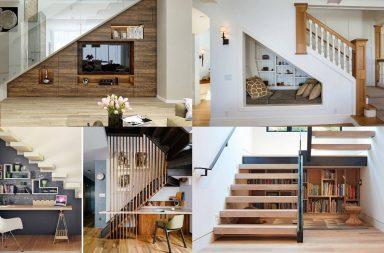 7 tips bài trí khéo léo cho gầm cầu thang nhà bạn