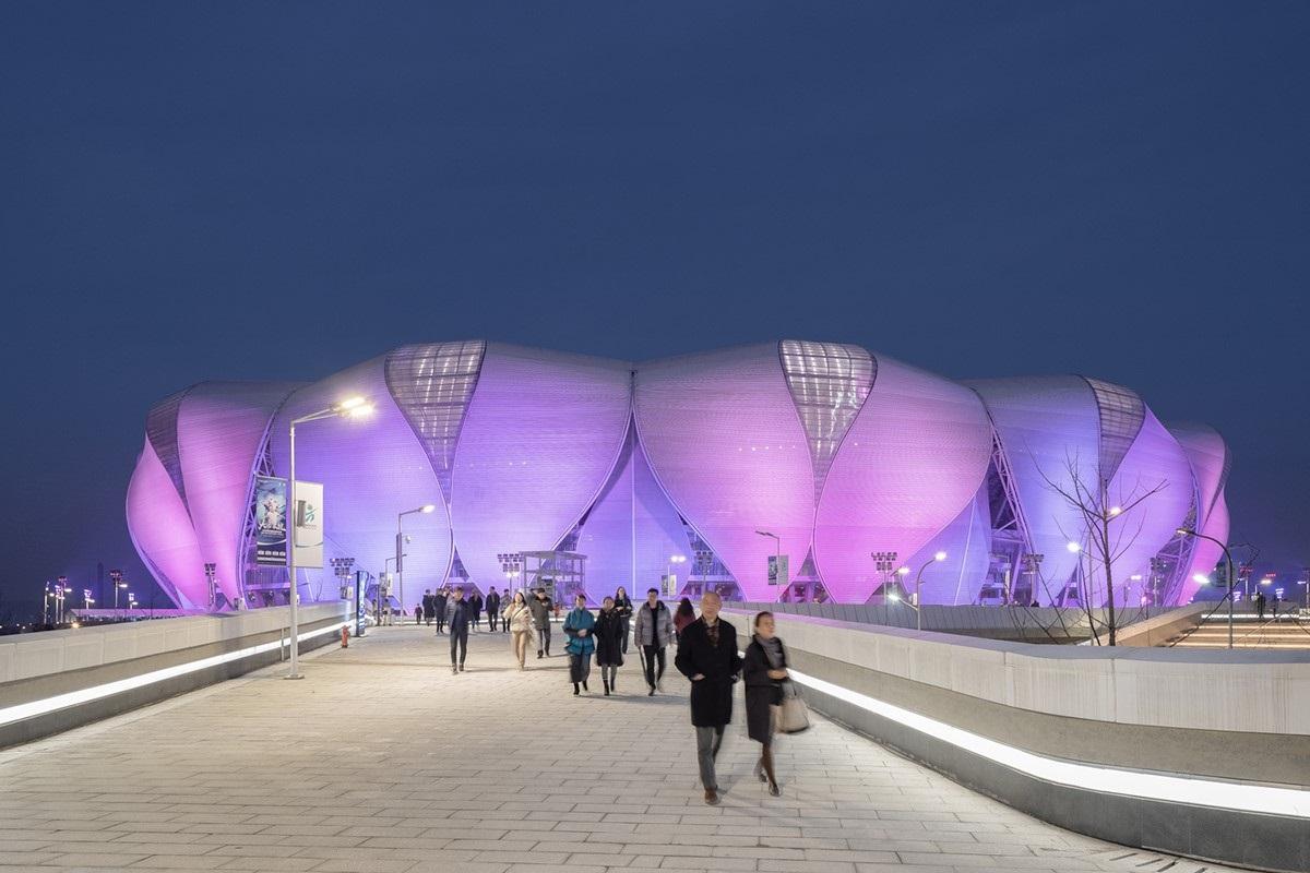 Sân vận động Olympic Hàng Châu lấy cảm hứng từ cánh sen Á Đông | NBBJ