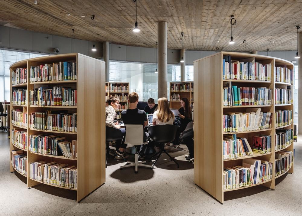 Trường Cao đẳng Glasir Tórshavn - Vườn ươm cho những ý tưởng đổi mới | BIG