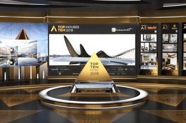 Trường quay ảo 3D – điểm nhấn tại Lễ trao giải Top 10 Houses Awards 2019