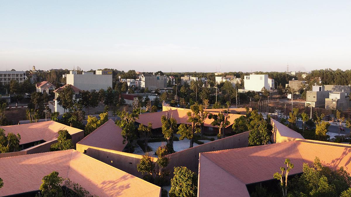 Phú Mỹ Garden - Khu phức hợp với kiến trúc nhà truyền thống | TAA Design