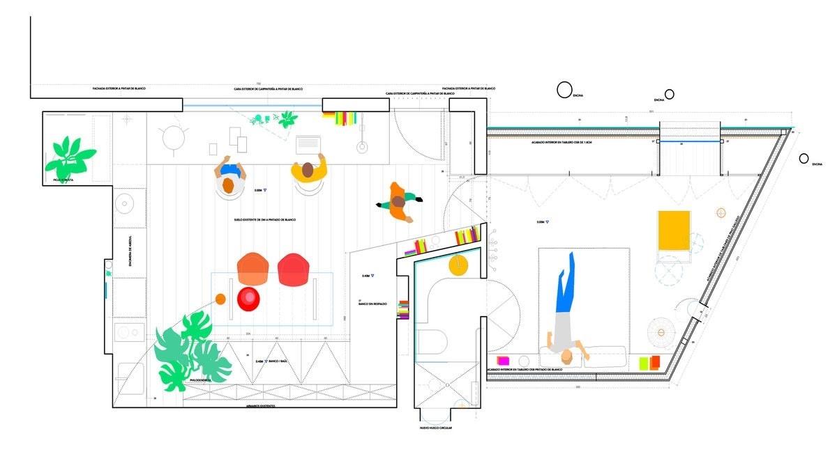 La Madriguera – Ngôi nhà dành cho người nội tâm