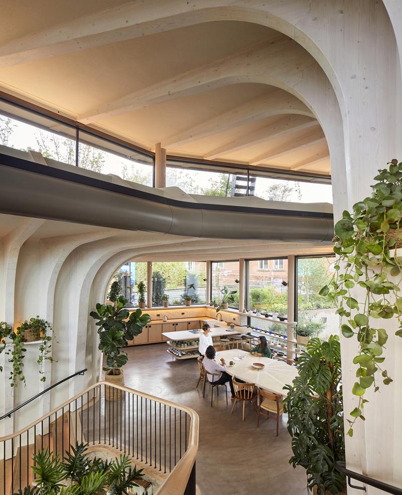 Maggie's Centre – Trung tâm điều trị miễn phí cho người bệnh ung thư | Heatherwick Studio