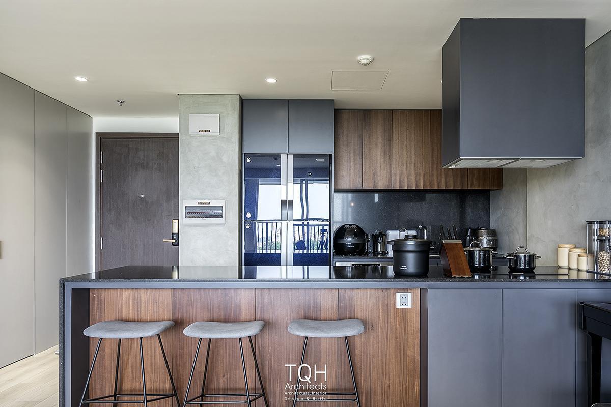 Nét hài hòa và nhã nhặn trong thiết kế căn hộ của TQH Architects