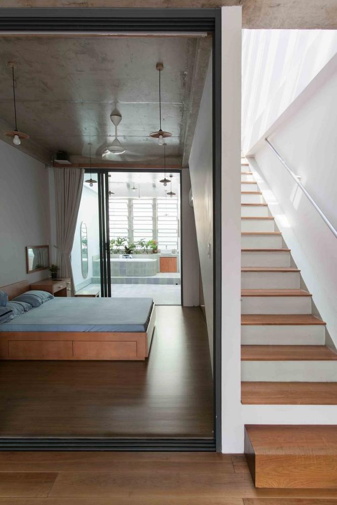 Nhà Tân Phú – Ngôi nhà với cấu trúc sống động | k59 atelier