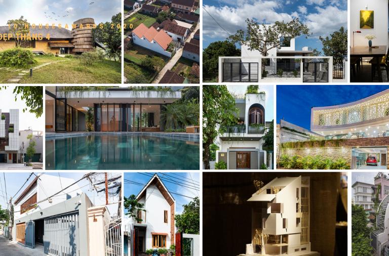 Top 10 Houses Awards 2020 | Tổng hợp Nhà đẹp tháng 4