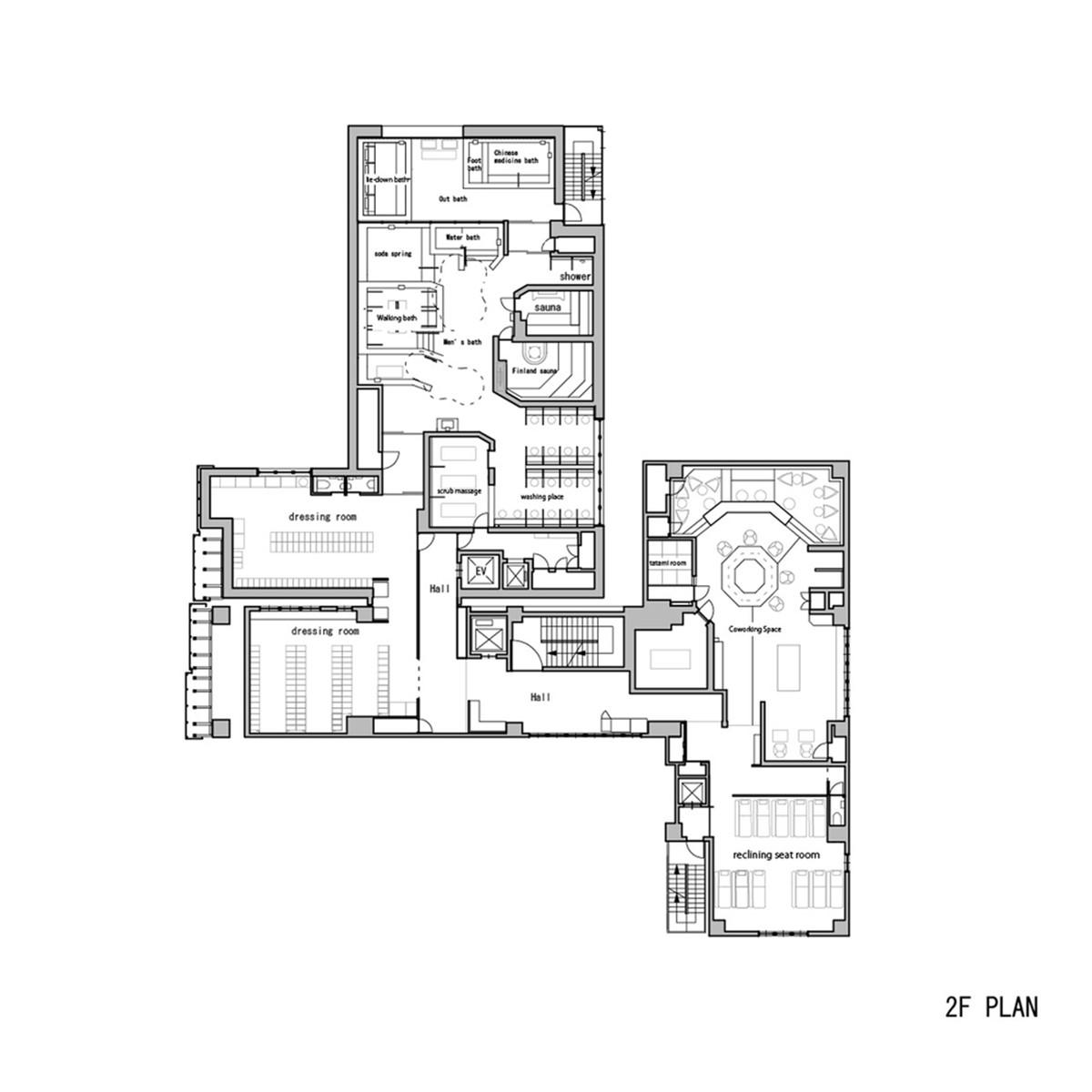Ryogoku Yuya Edoyu Spa – Từ truyền thống đến hiện đại | Kubo Tsushima Architects