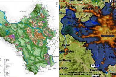 Hành lang xanh Sông Hồng: Giấc mơ 2050 từ nét vẽ hơn 100 năm trước