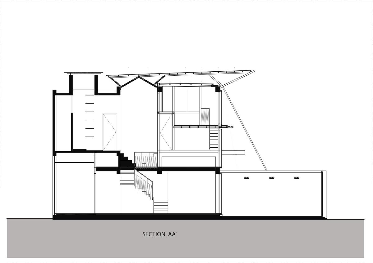 Nhà hai mái tôn | KHUÔN STUDIO
