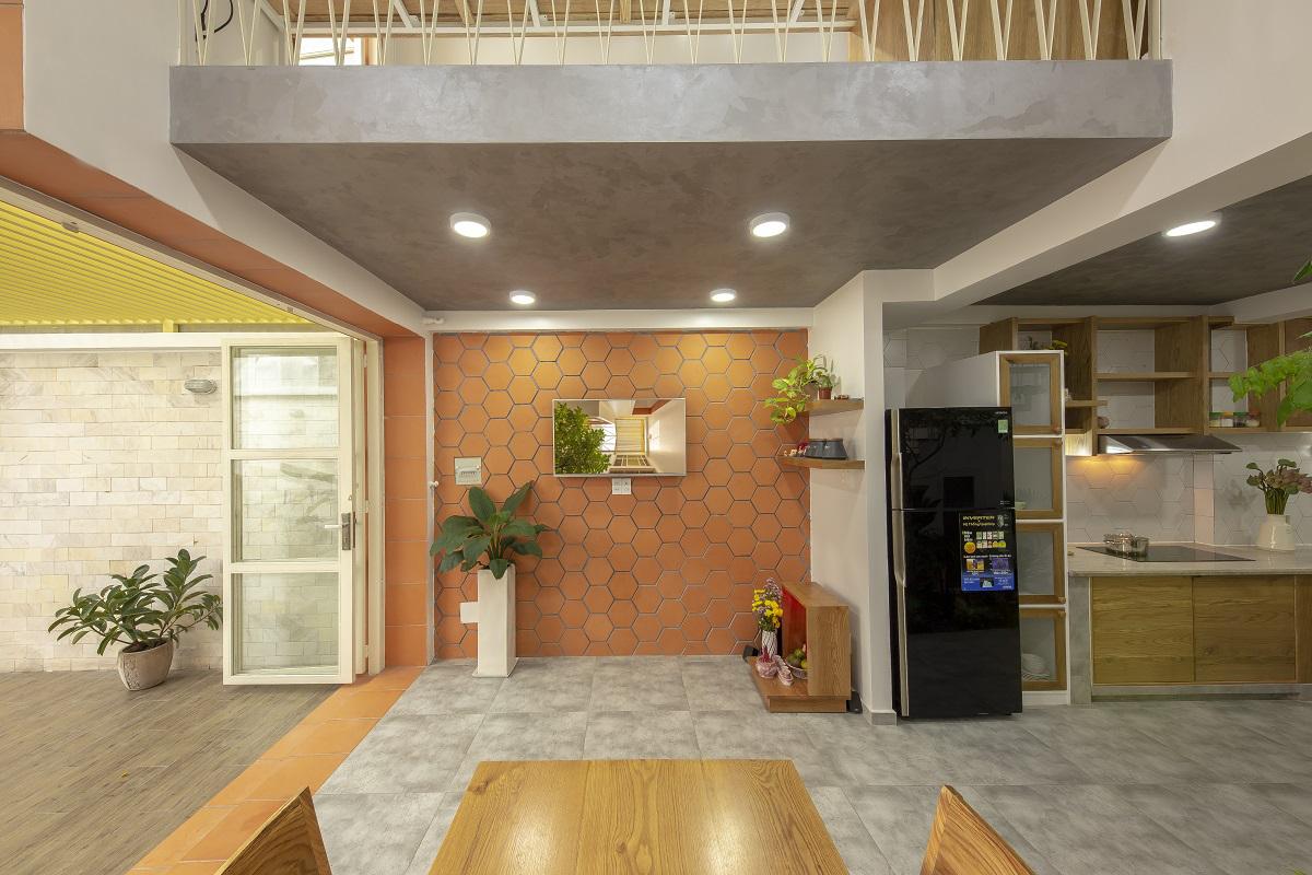 Nhà hai mái tôn   KHUÔN STUDIO